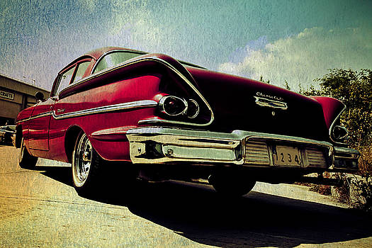 Vintage Chevy by Digital Art Cafe