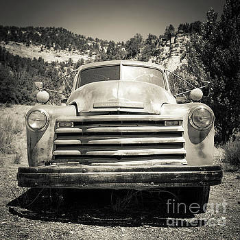 Edward Fielding - Vintage Chevy Pickup Truck Outside of Zion