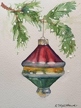 Vintage Christmas ornament by Rebecca Matthews