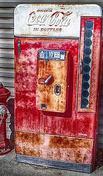 Vintage Coca-Cola Machine 10 cents by David Millenheft