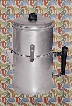 Vintage Coffee Pot by Susan Leggett