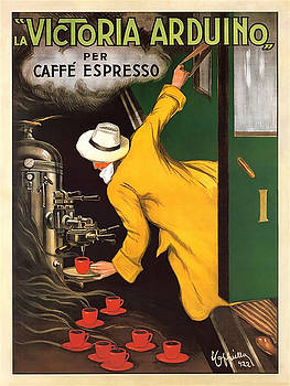 Vintage Coffee Advert - Circa 1920's by Marlene Watson