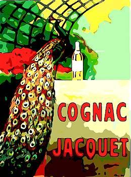 Larry Lamb - Vintage Cognac poster