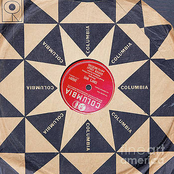 Vintage Columbia Records Graphic Design by Edward Fielding