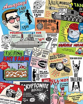 Ron Magnes - Vintage Comic Book Ads