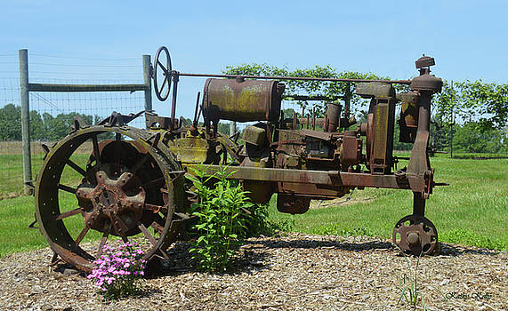 Kathy Kelly - Vintage Country Tractor