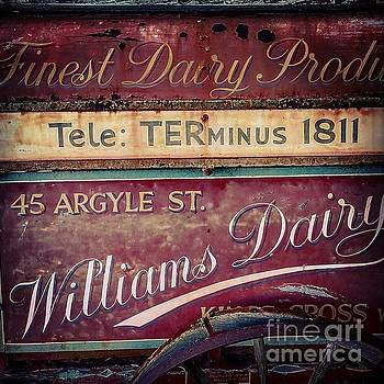 Gregory Dyer - Vintage Dairy Sign
