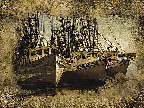 Vintage Darien Shrimpers by Jim Ziemer
