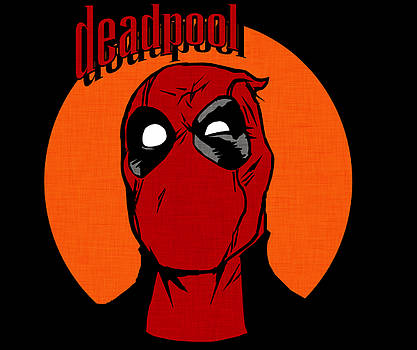Kyle West - Vintage Deadpool With Overlay