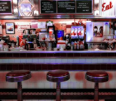 Vintage Diner by Sherman Perry