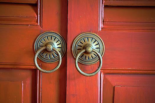 Vintage Door  by Prasert Chiangsakul