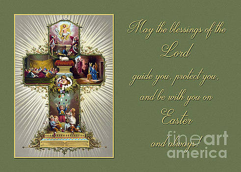 Vintage Easter Blessings by JH Designs