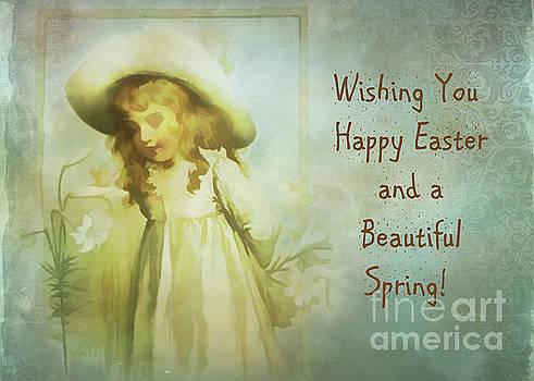 Kathryn Strick - Vintage Easter Card 2016