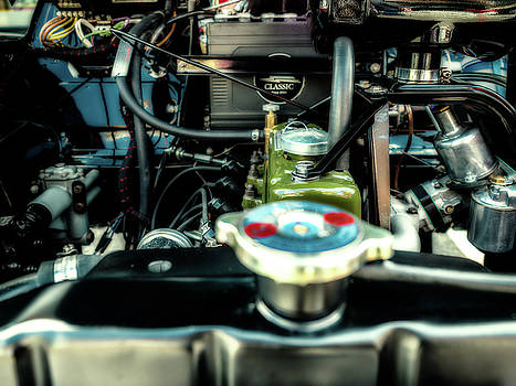 Vintage Engine by Nick Bywater