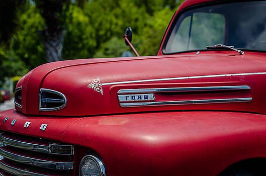 Vintage Fire Engine Red by Stephanie Maatta Smith