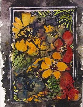 Vintage Flowers by Melanie Stanton