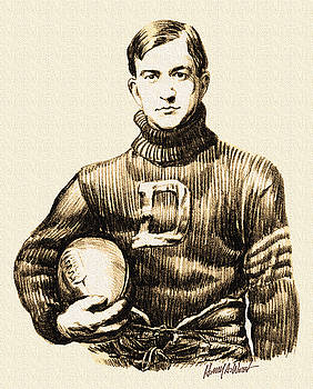 Vintage Football by Harry West