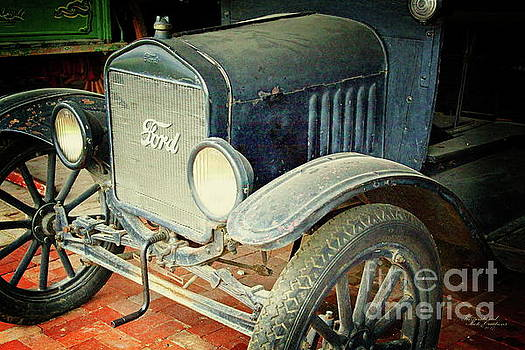 Vintage Ford by Inspirational Photo Creations Audrey Woods