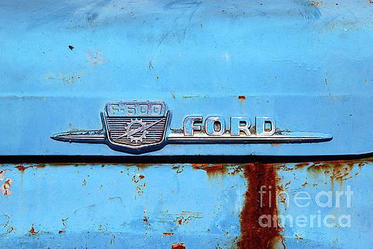 James Brunker - Vintage Ford F-600 Truck Detail
