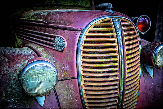Vintage Ford Firetruck by Rod Kaye