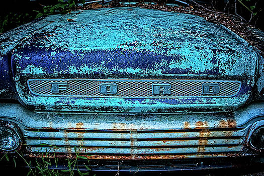 Vintage Ford Pick Up by Rod Kaye