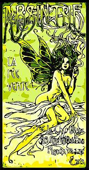 Larry E Lamb - Vintage French absinthe advertising remastered