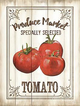 Vintage Fresh Vegetables 4 by Debbie DeWitt