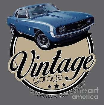 Vintage Garage Camaro SS by Paul Kuras