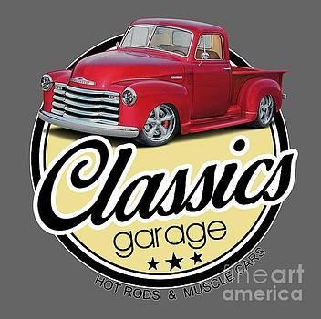 Vintage Garage Pickup by Paul Kuras