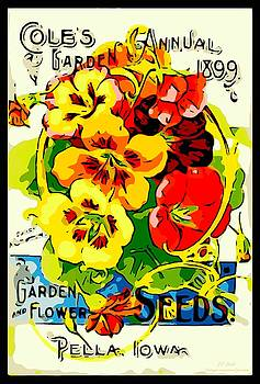 Larry Lamb - Vintage garden seed advertising