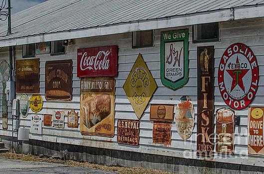 Dale Powell - Vintage Gas Station SIgns