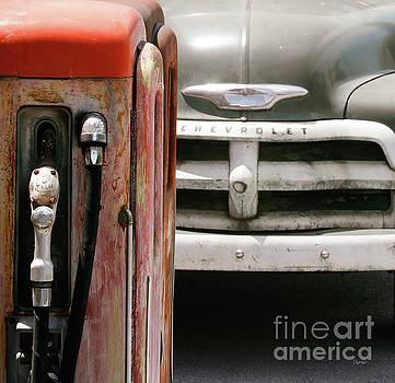 Vintage Gas  by Steven Digman