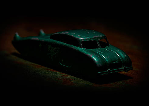 Art Whitton - Vintage Green Futuristic Toy Car 2