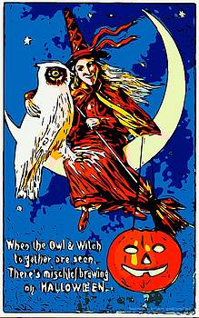 Larry Lamb - Vintage Halloween posters signs
