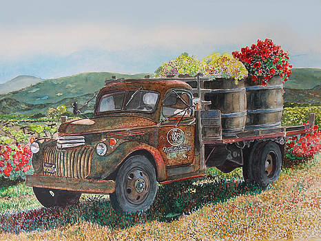 Vintage Harvest by Gail Chandler