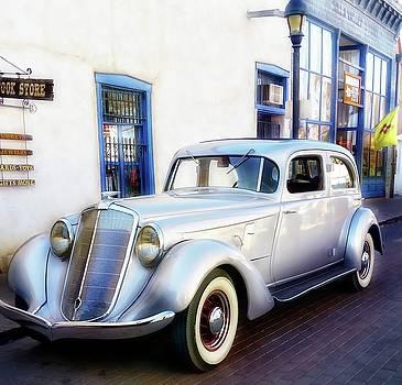 Vintage Hupmobile Mesilla New Mexico by Barbara Chichester