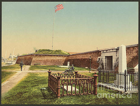 Dale Powell - Vintage Image of Fort Moultrie