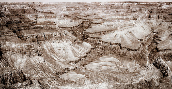 Vintage image of Grand Canyon by Daniela Constantinescu