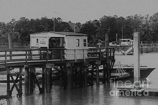 Dale Powell - Vintage Isle of Palms Dock on the ICW