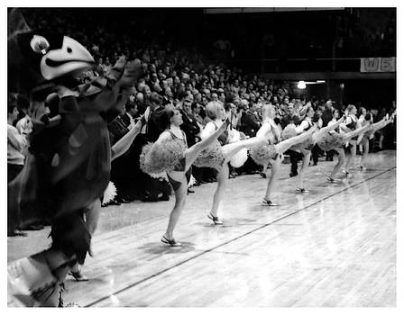 Vintage ISU Cheerleaders by Kyle J West