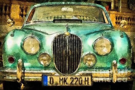 John Springfield - Vintage Jaguar Pop Art