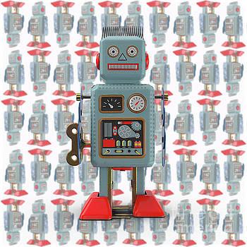 Vintage Japanese Toy Robot Design by Edward Fielding