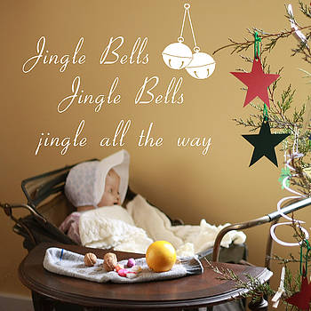 Vintage Jingle Bells by Linda C Johnson