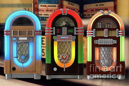 Vintage Jukeboxes by Edward Fielding