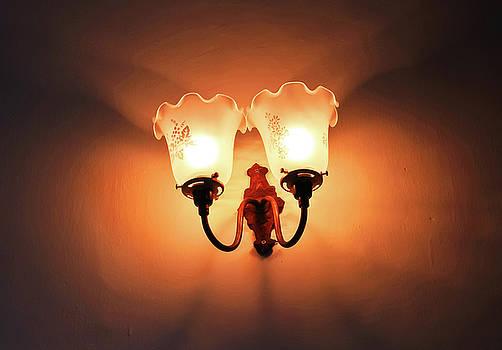 Vintage Lamp  by Prasert Chiangsakul