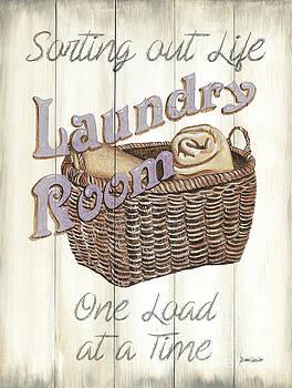 Vintage Laundry Room 2 by Debbie DeWitt