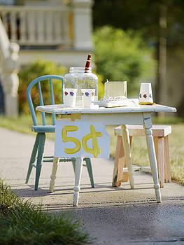 Vintage Lemonade Stand 5 Lettering by Gillham Studios