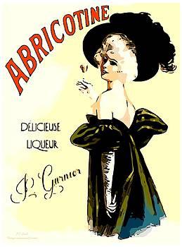 Larry Lamb - Vintage Liquor Poster
