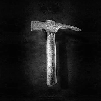 Vintage Masonry Hammer in BW by YoPedro