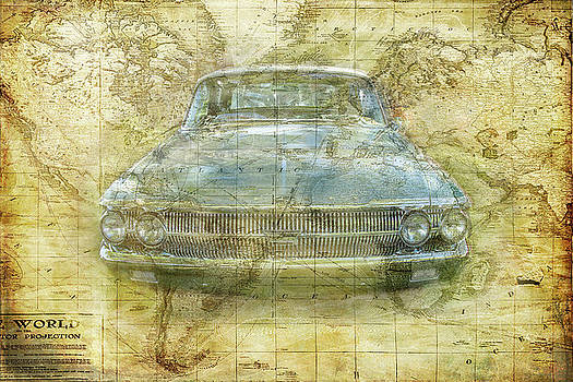Vintage Mercury by Ramona Murdock